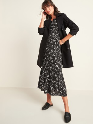 Old Navy Long Soft-Brushed Peacoat for Women