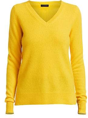 Saks Fifth Avenue Women's COLLECTION Cashmere V-Neck Sweater