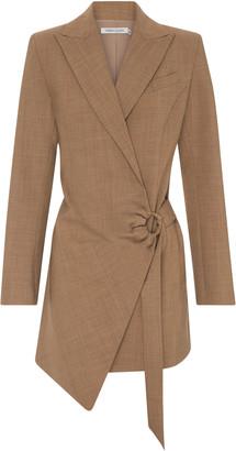 Anna Quan Valentina Wool-Blend Blazer Dress
