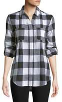 Lord & Taylor Plus Nancy Plaid Cotton Shirt