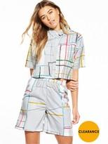 NATIVE YOUTH Spectrum Print Boxy Shirt
