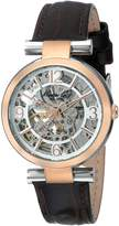 Kenneth Cole New York Women's KC2819 Automatic Rose Gold Strap Watch