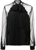 Carolina Herrera georgette blouse
