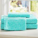 Mini Dot Extra Pillowcases, Set of 2, Dark Mint
