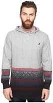 Staple Fair Isle Hooded Dip Tee
