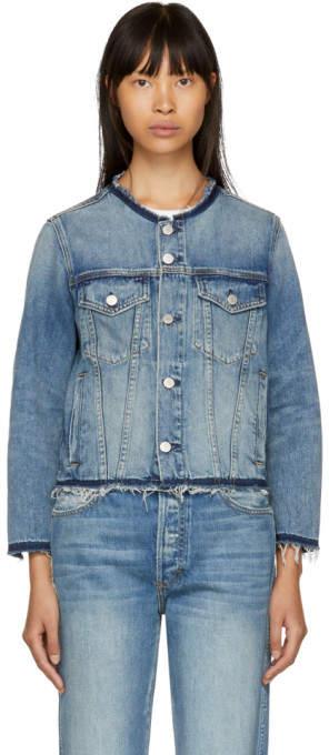 Amo Blue Lola Denim Jacket
