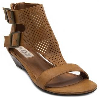 Sugar Wigout Perforated Wedge Sandal