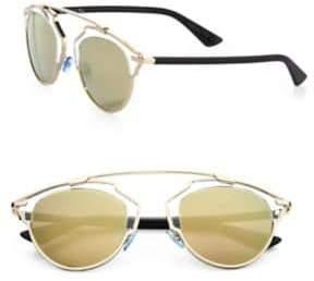 Christian Dior So Real 48MM Pantos Sunglasses