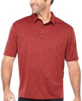 Van Heusen Air Spacedye Polo Short Sleeve Melange Polo Shirt Big and Tall