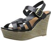 Qupid Women's Ardor-57 Wedge Sandal