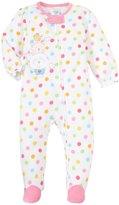 Absorba Dot Blanket Sleeper (Baby) - Pink Print-24 Months