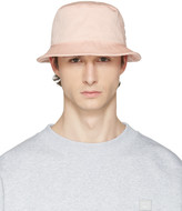 Acne Studios Pink Buk A Bucket Hat
