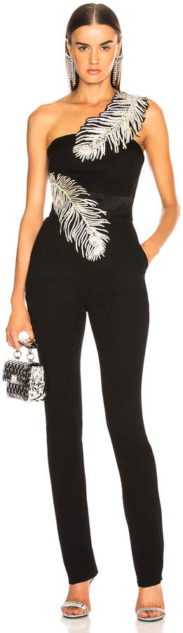 David Koma Embroidered Jumpsuit