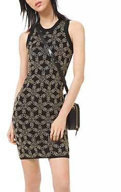 MICHAEL Michael Kors Floral Beaded Dress