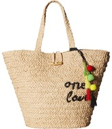 Hat Attack Bob Marley One Love Tote Tote Handbags