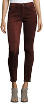 Rag & Bone Skinny Suede Pants, Port