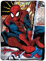 Marvel Spider-Man Spider Origins Plush Micro-Raschel Throw Bedding