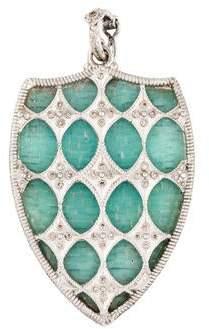 Armenta Glass & Diamond Enhancer Pendant