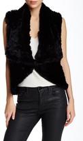 Love Token Carter Genuine Rabbit Fur Vest
