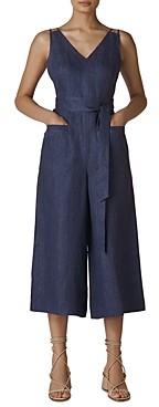 Whistles Alpha Linen Jumpsuit