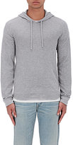 Vince Men's Double-Knit Cotton Hoodie