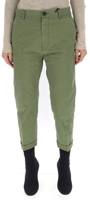 DSQUARED2 Dennis Fit Cropped Chinos