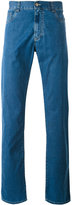 Canali regular-fit jeans - men - Cotton/Polyester - 50