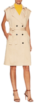 Lucca Couture Belted Trench Vest