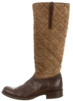 Ralph Lauren Quilted Riding Boots