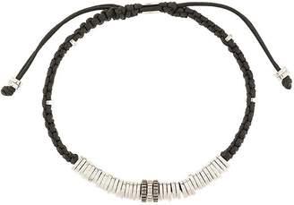 Tateossian macramé disc gear bracelet
