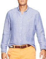 Polo Ralph Lauren Big and Tall Striped Linen Shirt