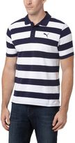 Puma Striped Pique Polo Shirt