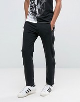 Religion Joggers With Popper Leg