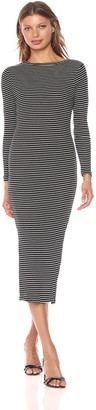French Connection Women's Tim Rib Stripe Dress