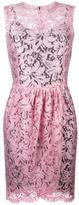 Dolce & Gabbana tulip lace dress - women - Silk/Cotton/Polyamide/Viscose - 42