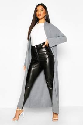 boohoo Premium Knit Maxi Cardigan