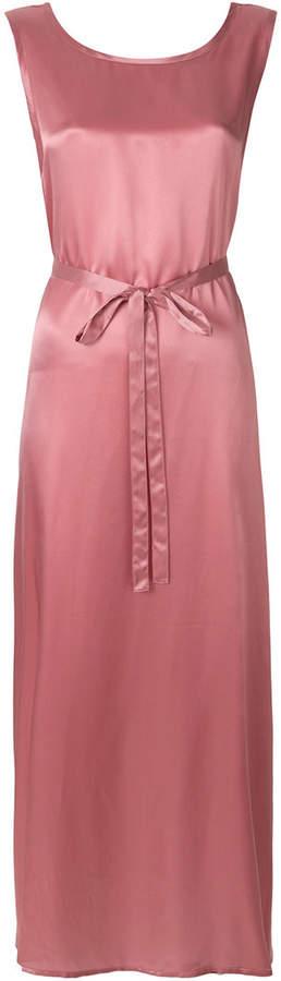 Ann Demeulemeester sleeveless tie waist maxi dress