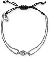 Rebecca Minkoff Evil Eye Adjustable Pull-Tie Bracelet