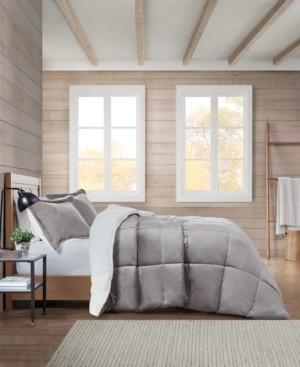 Premier Comfort Sherpa Solid King Comforter Set