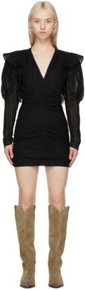 Isabel Marant Black Getya Dress