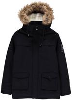 Little Karl Marc John Lenou Fur Hood Parka