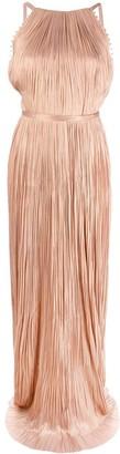 Maria Lucia Hohan Clarissa pleated gown