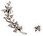 Oscar de la Renta Swarovski Crystal-embellished Earring And Ear Cuff