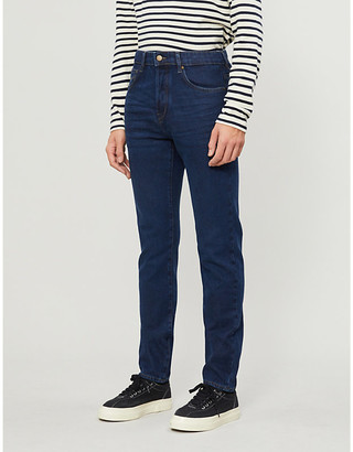 Ted Baker High-rise slim-fit stretch-denim jeans