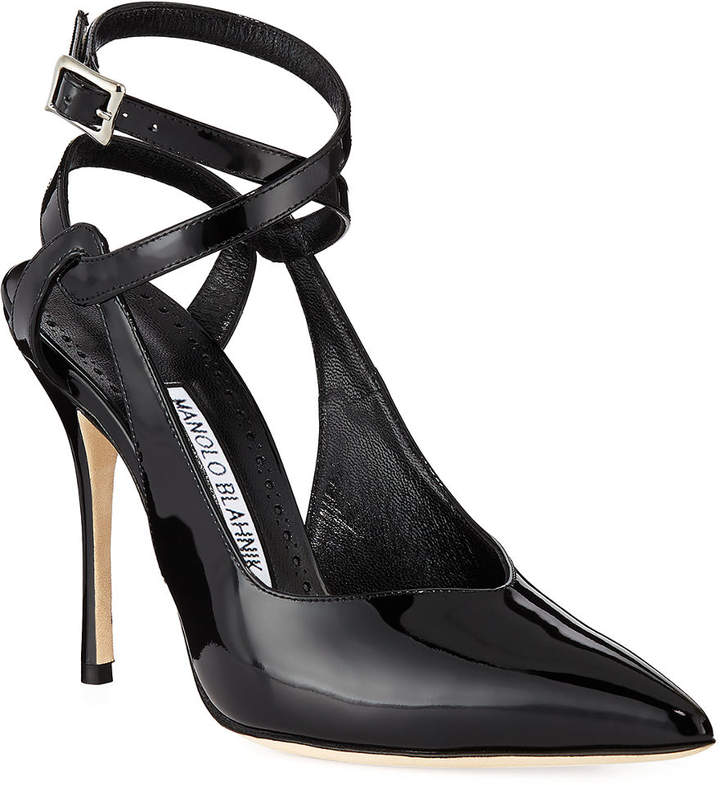 4ebe7681ba49b Black Stiletto Pumps With Red Sole - ShopStyle