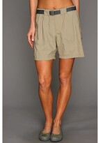 Columbia Sandy Rivertm Cargo Short (Tusk/Metal) Women's Shorts