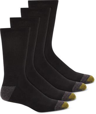 Gold Toe Men 4-Pk. Circuit Athletic Crew Socks