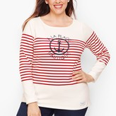 Talbots Authentic Tee - A La Plage