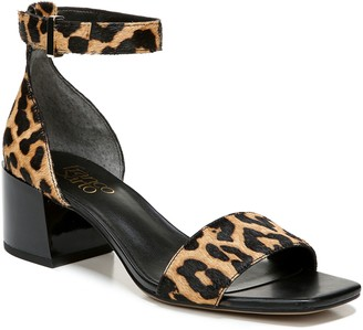 Franco Sarto Calf Hair Block-Heel Sandals - Merryl 3