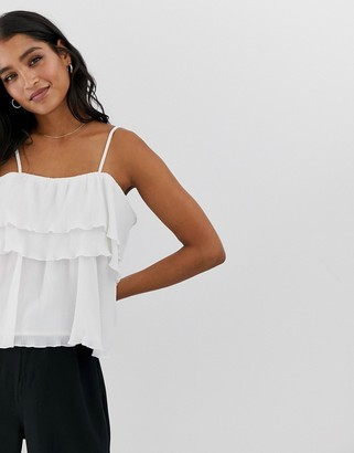 Berenice Y.A.S layered cami top-White